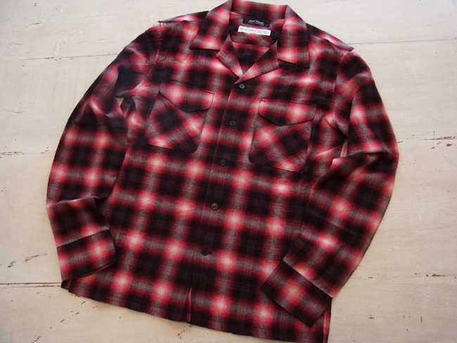 OPEN COLLAR SHIRT -OMBRE PLAID_01.JPG